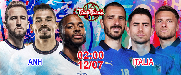 Chung kết Euro 2020: Ý Anh sao?