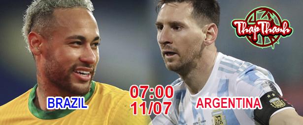 Chung kết Copa America: Brazil hay Argentina là Vua Nam Mỹ - 7h sáng Chủ nhật 11/07