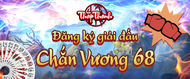 Chắn Thapthanh: Đăng ký Giải đấu Chắn Vương 68 giành iPad 4G 128GB
