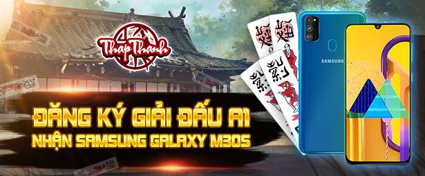 Đăng ký Giải đấu Chắn A1 nhận Samsung Galaxy M30s