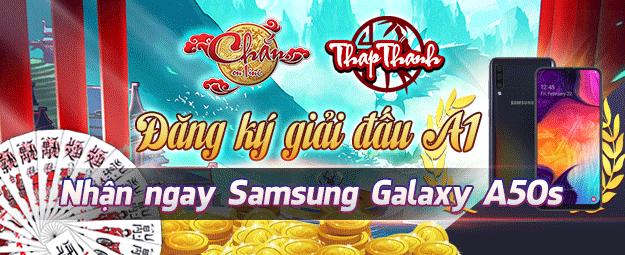 Đăng ký Giải đấu Chắn A1 nhận Samsung Galaxy A50s