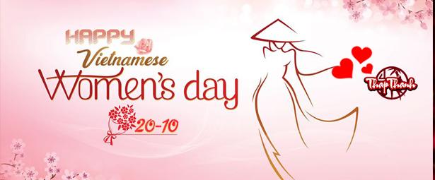 BQT Thapthanh Chúc Mừng Ngày Phụ Nữ Việt Nam 20/10
