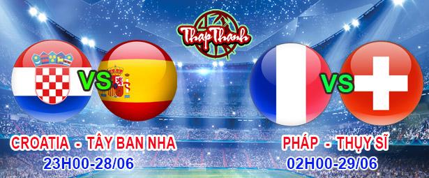 Dự đoán Euro 2020 cùng Thapthanh.com: Tây Ban Nha - Croatia (23h 28/06) và Pháp - Thụy Sỹ (2h 29/06)