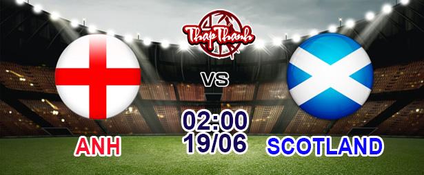 Dự đoán Euro 2021 cùng Thapthanh: Anh có đè bẹp Scotland? (02h ngày 19/06)