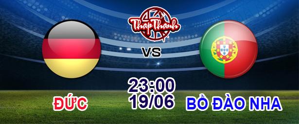 Cùng Thapthanh dự đoán: Đức vs Bồ Đào Nha (23h ngày 19/06) và Tây Ban Nha vs Ba Lan (2h ngày 20/06)