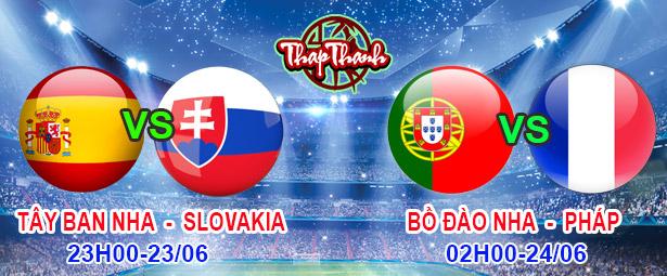 Dự đoán Euro 2020: Tây Ban Nha vs Slovakia (23h ngày 23/06), Pháp vs Bồ Đào Nha và Đức vs Hungary (2h ngày 24/06)