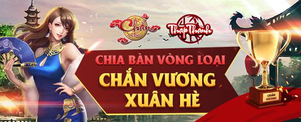 Chia bàn Vòng loại Chắn Vương Xuân Hè 2019
