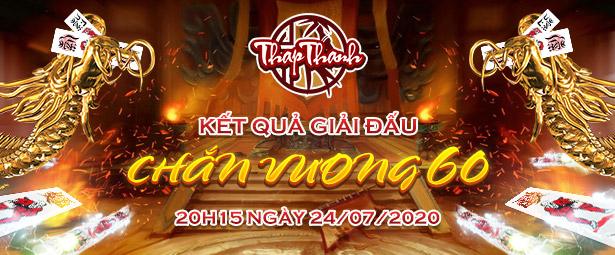 Chúc mừng chắn thủ bonghongchuatangmd vô địch giải đấu Chắn Vương 60