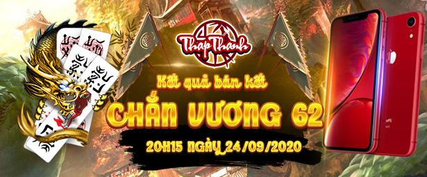 Chắn Thapthanh: Kết quả vòng Bán kết Giải đấu Chắn Vương 62