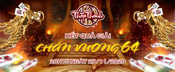 Chúc mừng chắn thủ toviethung9239 giành chức vô địch Chắn Vương 64