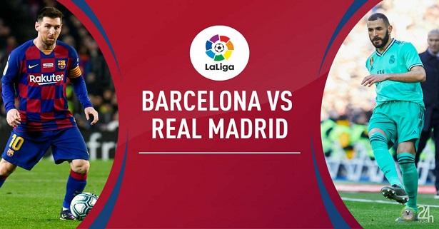 Dự đoán Bóng Đá Barcelona vs Real Madrid, 02h00 ngày 19/12