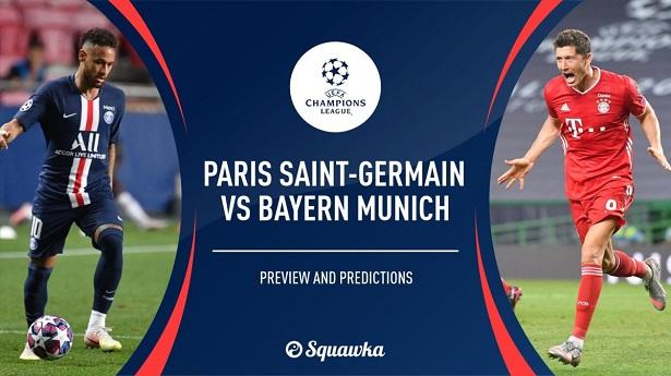 Dự đoán Bóng Đá PSG vs Bayern Munich (2h ngày 24/8)