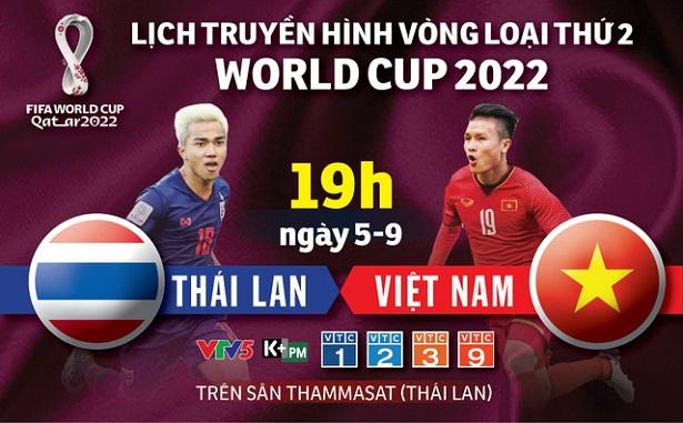 Dự đoán Bóng Đá Thái Lan vs Việt Nam ngày 05/09