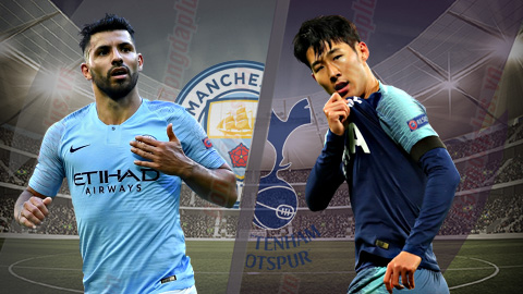 Dự đoán Bóng Đá Man City vs Tottenham, 17/8/2019