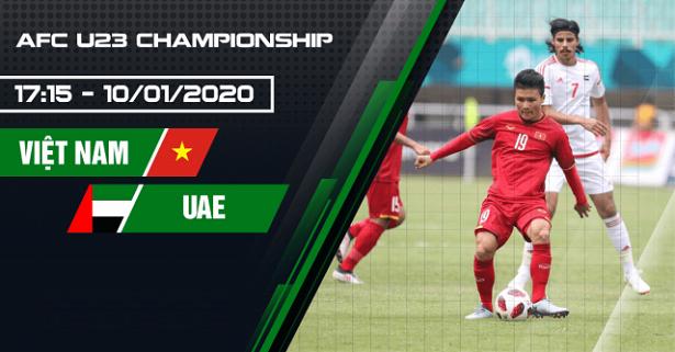 Dự đoán bóng đá U23 Việt Nam vs U23 UAE