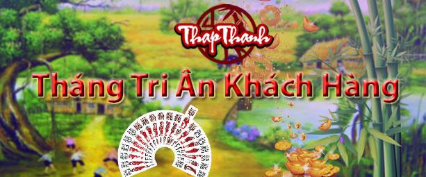 Thapthanh.com khuyến mại - Tháng Tri ân khách hàng