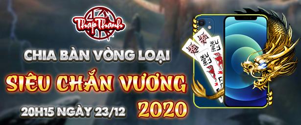 Chắn Thapthanh: Chia bàn Vòng loại Siêu Chắn Vương 2020